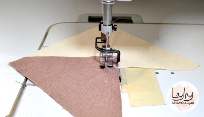 tutoriel astuce couture coudre ensemble un angle saillant et un angle rentrant
